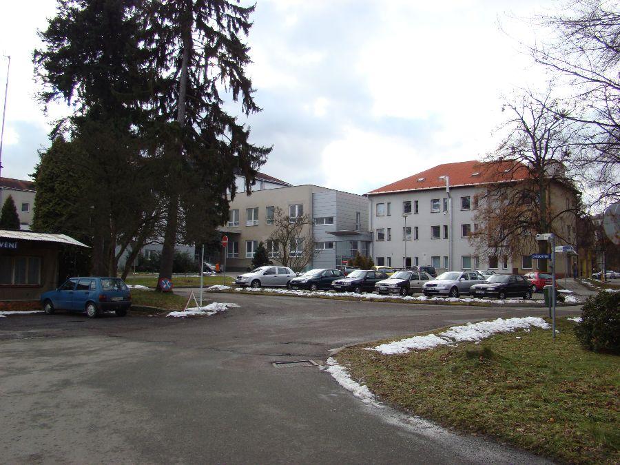 Budova chirurgie v rychnovské nemocnici