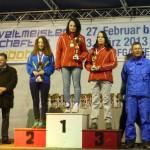 Obří slalom juniorky Steininger S Harnachová K Hašková Z