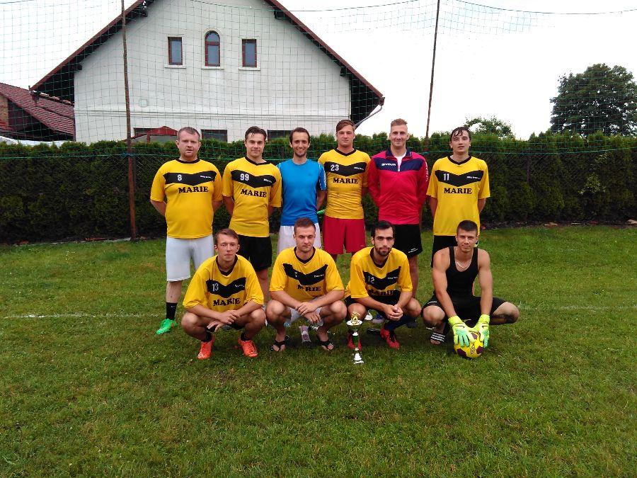 Druhý tým turnaje MARIE FC.