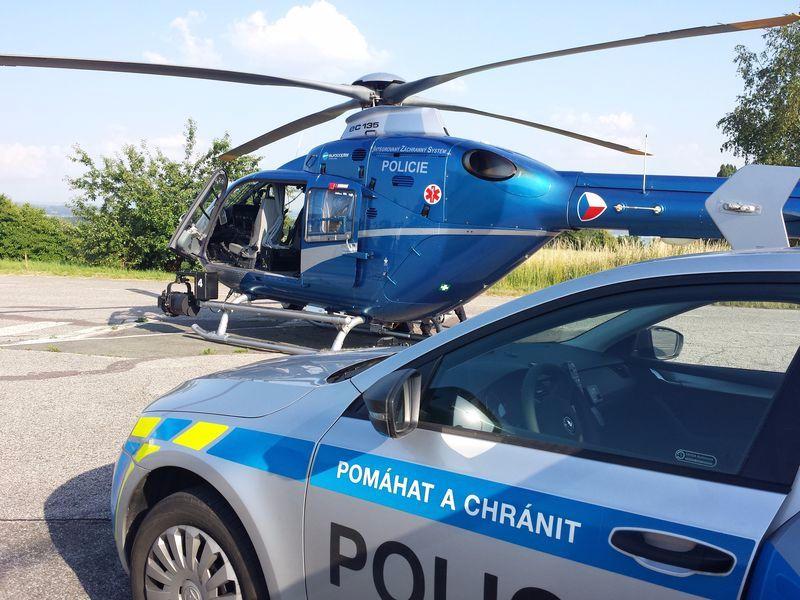 policie vrtulník ViewImage