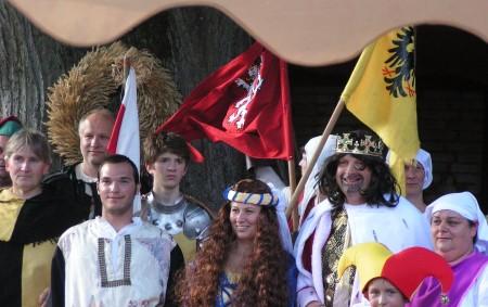 ZÁMĚL – Oslavy výročí 700 let narození Karla IV. a zároveň 660 let obce Záměl se konaly minulý víkend v Záměli. Foto: Jitka Čapková