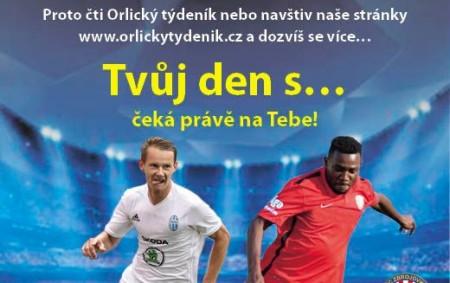 """RYCHNOV N. K. – Orlický týdeník připravil pro rodiče, malé fotbalisty a fotbalistky, ale také fanoušky a fanynky fotbalu znovu po roce jedinečnou šanci zúčastnit se naší soutěže o velké<a class=""""moretag"""" href=""""http://www.orlickytydenik.cz/soutez-orlickeho-tydeniku-tvuj-den-s-je-zpet/"""">...celý článek</a>"""