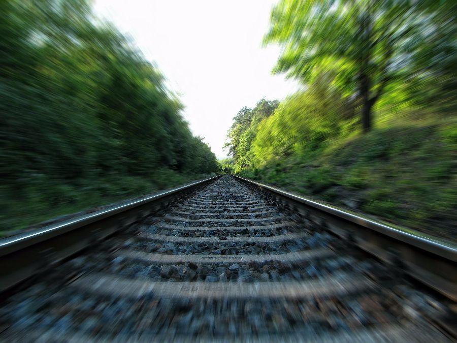 železnice_vlak