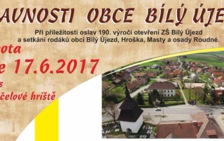 """BÍLÝ ÚJEZD – Vsobotu 17. června se chystají Slavnosti obce Bílý Újezd, které se uskuteční na návsi a víceúčelovém hřišti. Budou zahájeny v9 hodin mší svatou vkostele Proměnění Páně, následuje<a class=""""moretag"""" href=""""http://www.orlickytydenik.cz/slavnosti-obce-bily-ujezd/"""">...celý článek</a>"""