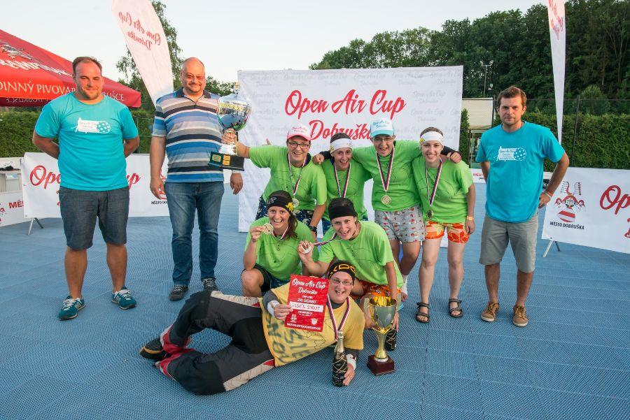 Lassie´s Snout - úspěšné obhájkyně prvenství na Open Air Cup Dobruška.