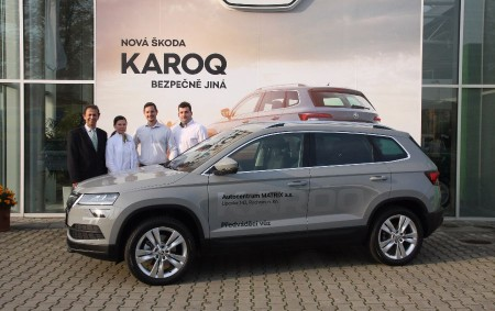 """LIPOVKA – Autocentrum MATRIX Lipovka dnes oficiálně představilo nový model značky Škoda – KAROQ. Na nejnovější přírůstek značky se můžete přijít podívat v pracovních dnech od 7 do 17 hodin<a class=""""moretag"""" href=""""http://www.orlickytydenik.cz/prijdte-si-do-lipovky-prohlednout-noveho-karoqa/"""">...celý článek</a>"""