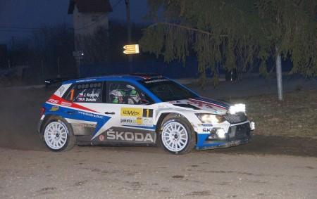 """VALAŠSKÉ MEZIŘÍČÍ - Posádka týmu Škoda Motorsport Jan Kopecký – Pavel Dresler zvítězila stylem start-cíl v úvodním podniku MČR v rally 2018. Tím byla 37. KOWAX Valašská rally ValMez 2018.<a class=""""moretag"""" href=""""http://www.orlickytydenik.cz/posadka-tymu-skoda-motorsport-jan-kopecky-pavel-dresler-zvitezila-v-37-kowax-valasske-rally-valmez/"""">...celý článek</a>"""