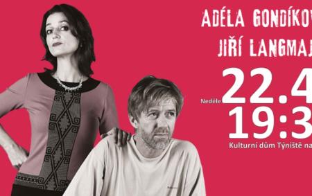 """TÝNIŠTĚ N. O. – Herecký koncert v podání Jiřího Langmajera a Adély Gondíkové se rozehraje 22. dubna od 19.30 v Kulturním domě v Týništi nad Orlicí. Režie se ujal Petr<a class=""""moretag"""" href=""""http://www.orlickytydenik.cz/duo-znamych-hercu-miri-do-tyniste/"""">...celý článek</a>"""