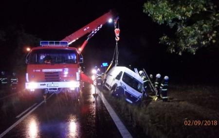"""BÍLÝ ÚJEZD – Profesionální hasiči zRychnova nad Kněžnou a Dobrušky zasahovali první srpnovou neděli v1.13 hodin u dopravní nehody dodávky. Ta havarovala ve směru jízdy na Chábory. Dodávka zůstala po<a class=""""moretag"""" href=""""http://www.orlickytydenik.cz/havarovala-dodavka-se-zviraty/"""">...celý článek</a>"""