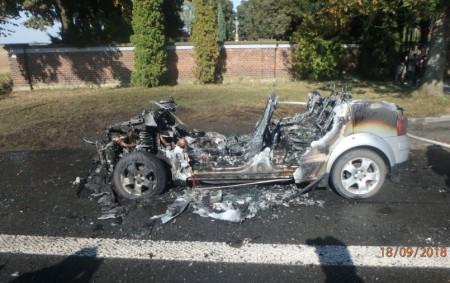 """DOUDLEBY N. O. – K požáru osobního automobilu, který začal hořet na silnici I/11 na výjezdu z Doudleb, vyjeli v úterý 18. září profesionální hasiči z Rychnova nad Kněžnou a<a class=""""moretag"""" href=""""http://www.orlickytydenik.cz/pozar-auta-uzavrel-silnici/"""">...celý článek</a>"""