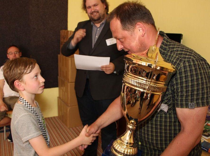 Putovní pohár získává náš Dan Krautschneider