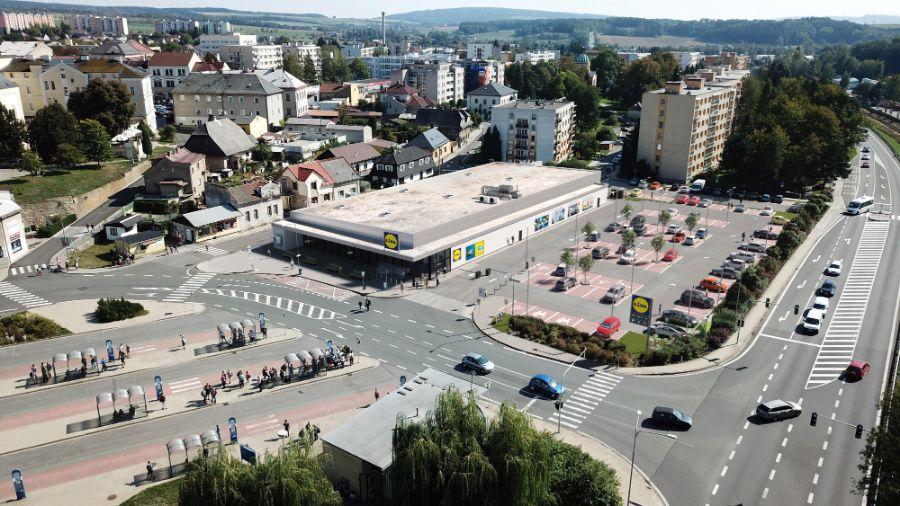 Vizualizace_prodejna nová generace v Rychnově nad Kněžnou