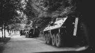 RYCHNOV N. K. – Už je to jedenapadesát let, co tehdejší Československo obsadila vojska Varšavské smlouvy pod vedením Sovětského svazu. Na snímku Josefa Kráma vidíte obrněná vozidla polské armády, která