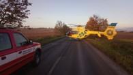 ROHENICE - Profesionální hasiči zDobrušky zajišťovali 11. října v7.04 hodin místo události při dopravní nehodě, kdy osobní automobil srazil chodce. Jednotka řídila vmístě události dopravu na komunikaci a provedla