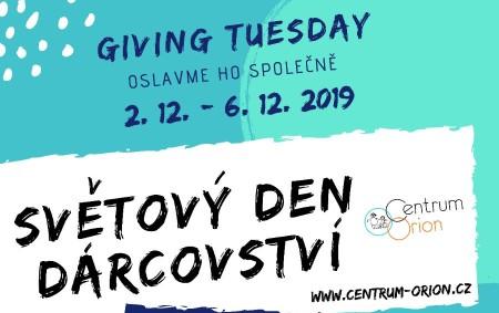 """DLOUHÁ VES/RYCHNOVSKO – Světový den dárcovství a dobrých skutků Giving Tuesday připadne letos na 3. prosince – a vy jej můžete oslavit společně s námi. Přijďte si také pro dárek!<a class=""""moretag"""" href=""""http://www.orlickytydenik.cz/prijdte-si-pro-darek-do-centra-orion/"""">...celý článek</a>"""