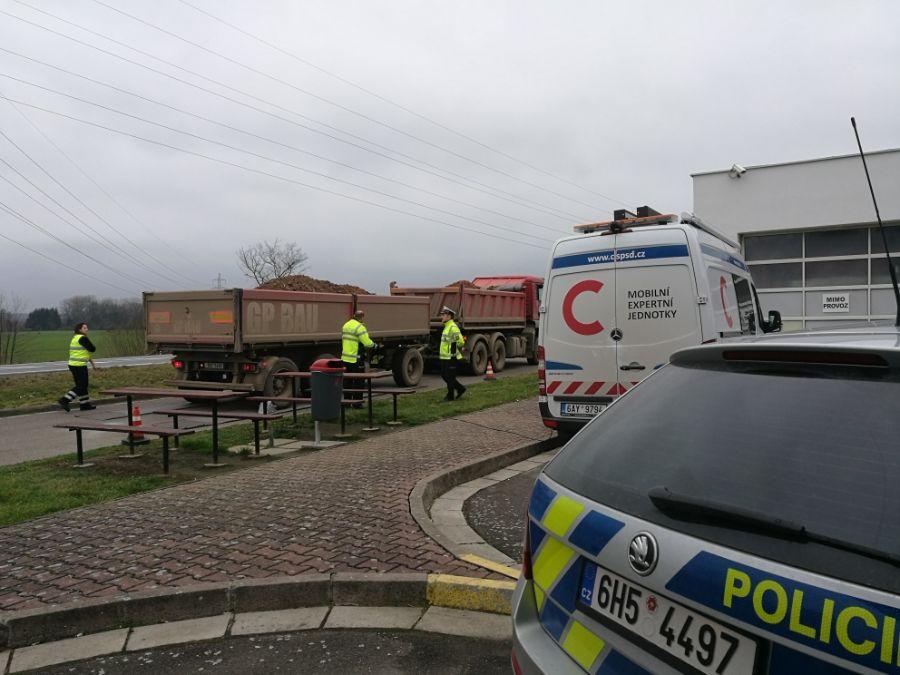 V hledáčku policistů nákladní soupravy 1 ViewImage