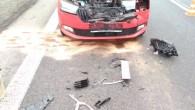 ČESTICE – Kdopravní nehodě dvou osobních vozidel, která se stala na silnici č. 11, vyjížděli 22. ledna profesionální hasiči ze stanice Rychnov nad Kněžnou a JSDH Kostelec nad Orlicí. Jedna