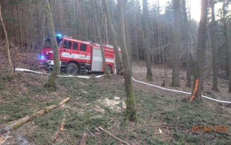 """LIBERK – Kohlášenému požáru vlesním porostu vkatastru části Liberk vyjelo vneděli 5. dubna večer šest jednotek hasičů. Hořelo vtěžko přístupném terénu, na ploše asi 500×700 m se nacházela jednotlivá ohniska.<a class=""""moretag"""" href=""""http://www.orlickytydenik.cz/horelo-v-tezko-pristupnem-terenu/"""">...celý článek</a>"""
