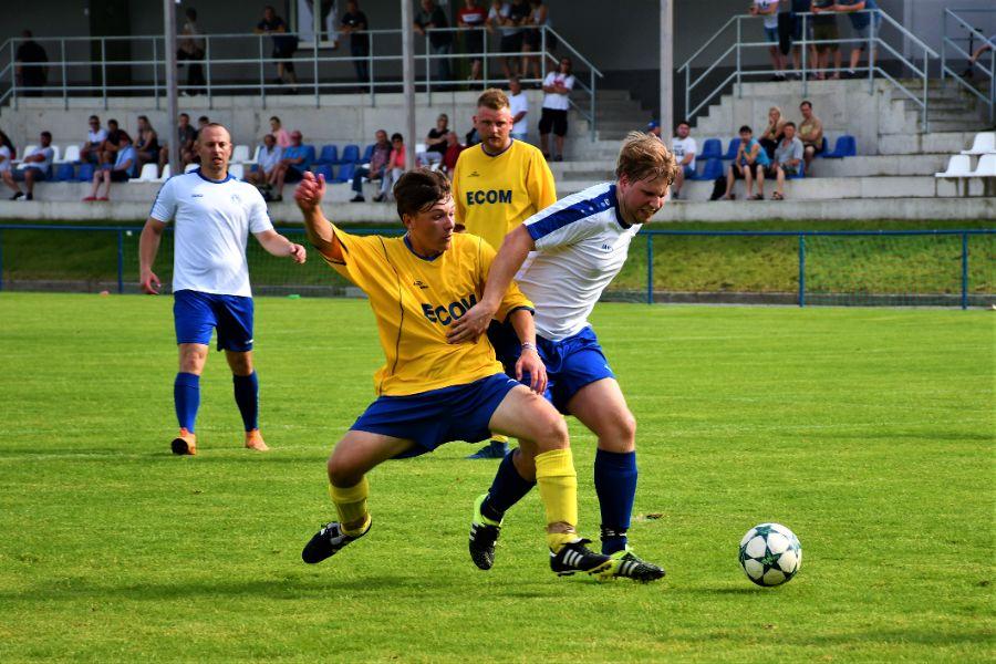 Spartak Opočno - FC České Meziříčí.   Foto: Markéta Vlachová.