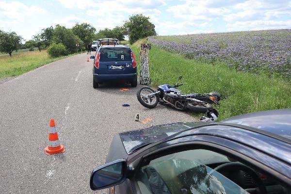 motorka Nedodržení bezpečné vzdálenostiViewImage
