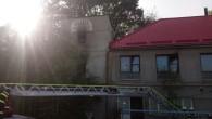 RYCHNOV N. K. – VJiráskově ulici zasahovaly 20. září v15.07 hodin jednotky zdruhého stupně požárního poplachu u požáru objektu bývalé pekárny. Požár se vobjektu rozšířil vprvním i druhém nadzemním podlaží