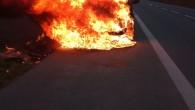 LUPENICE – Na silnici č. 14 nedaleko odbočky na obec Lupenice likvidovala 29. října profesionální rychnovská jednotka požár dodávky značky Fiat Ducato. Automobil byl při příjezdu hasičů na místo události