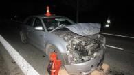 KRAJ – Za víkend 15 nehod při srážce se zvěří – srny, divoká prasata, zajíci nebo daňci kříží cestu autům v přepočtu každých 5 hodin. Pavouk na čelním skle, poničená