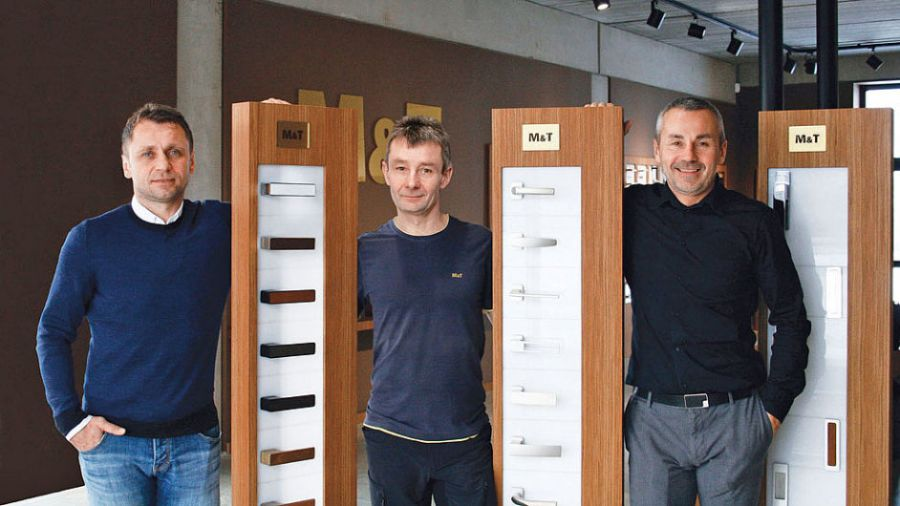Bratři Ulichové - Ivo, Petr a Roman.      Foto: archiv M&T.