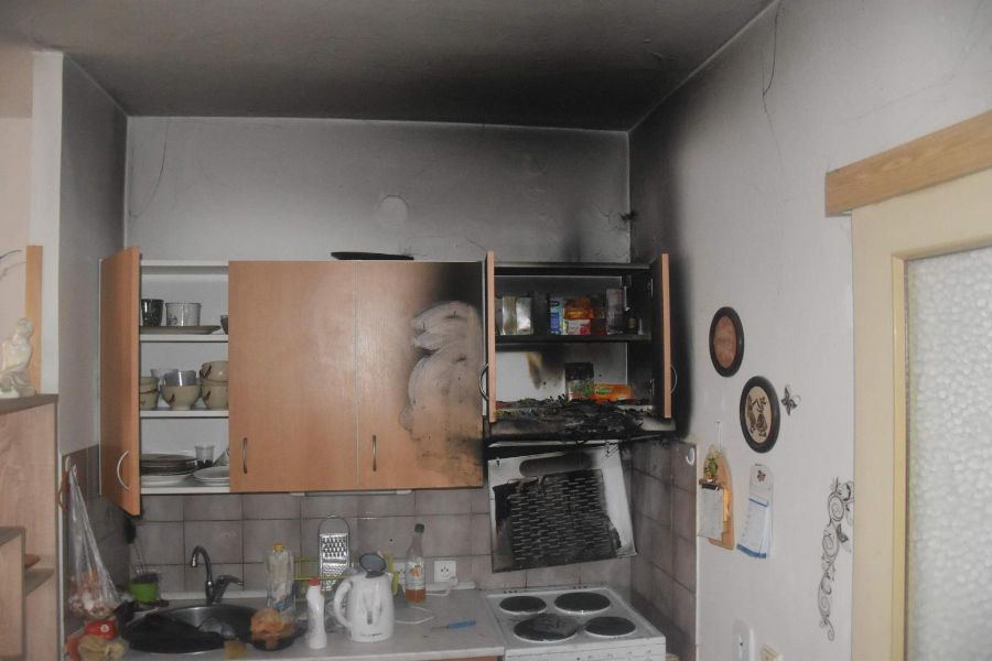 Požáry v kuchyni jsou velmi nebezpečné ViewImage