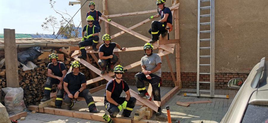 Nasazení hasičů na jižní Moravě je velmi intenzivníViewImageNM2P4H6A